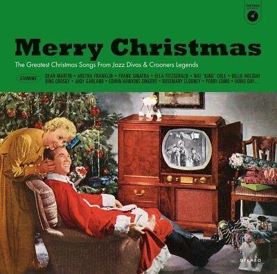MERRY CHRISTMAS THE GREATEST CHRISTMAS.. JAZZ DIVAS&CROONERS LEGE VINYL LP NEW+  ()