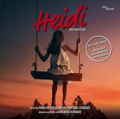 Wien Cast (ORIGINAL CAST WIEN -U.KROEGER - HEIDI-DAS MUSICAL  2 CD NEU)