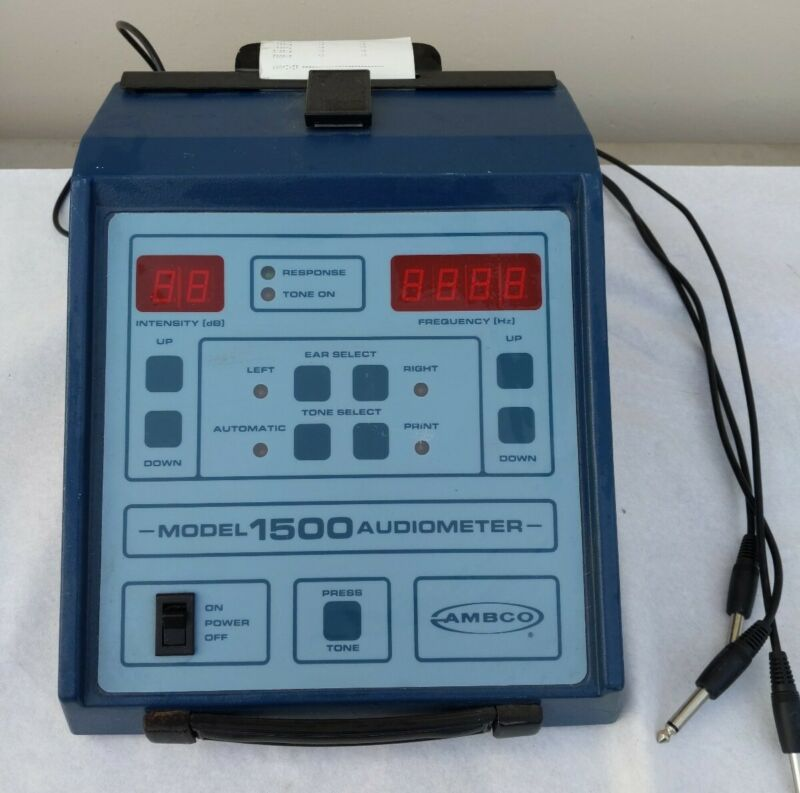 ambco model 1500 audiometer