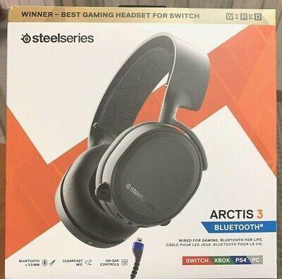 New Genuine SteelSeries Arctis 3 Bluetooth Stereo Gaming Headset - Ships FREE