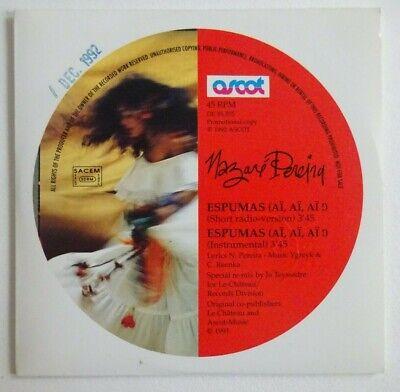 NAZARE PEREIRA : ESPUMAS (AÏ, AÏ, AÏ !) ♦ CD Single Promo ♦ comprar usado  Enviando para Brazil