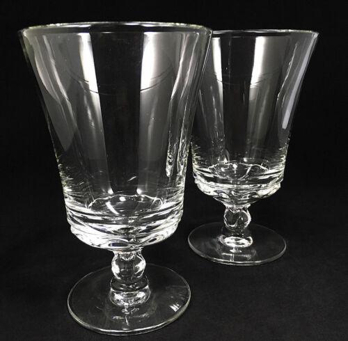 Near-Mint CENTURY Fostoria Ice Iced Tea Glasses -Pair Set of 2