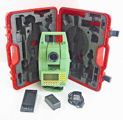 Leica Tcrm1105 Plus Total Station For Surveying One Month Warranty