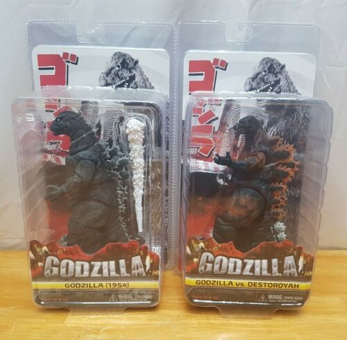 NECA Godzilla vs. Destroyah And Godzilla 1954 Action Figures