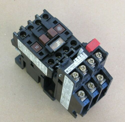 OMRON TELEMECANIQUE CONTACTOR LC1-D093 A65 W/ OVERLOAD RELAY LR.-D09 306