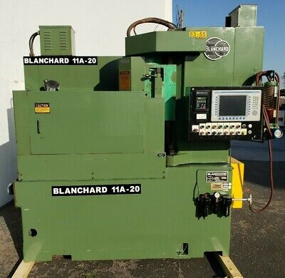 20 Cnc Blanchard Model 11a-20 Rotary Surface Grinder Barely Used Original Paint
