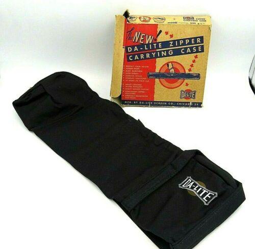 Vintage Da-Lite Zipper Carrying Case Versatol Size #40