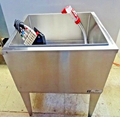 Ice Bin W Cold Plate Coke Wunder Bar Dispensing System