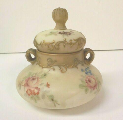 Mt. Washington CROWN MILANO Art Glass Lidded Sugar Bowl, c.1890