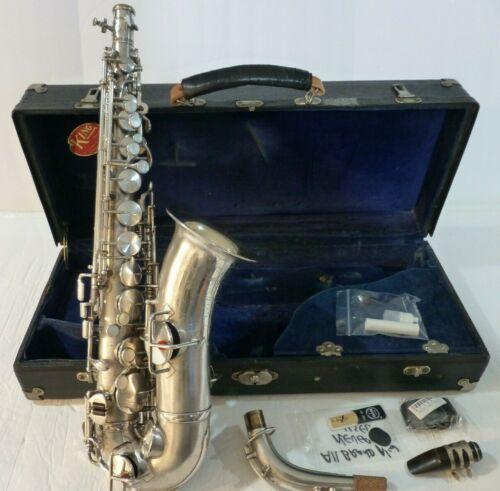 King New Voll-True Alto Saxophone 1930