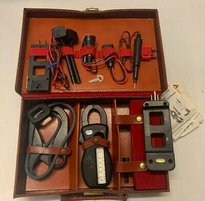 Vintage Amprobe Test Master Meter Kit