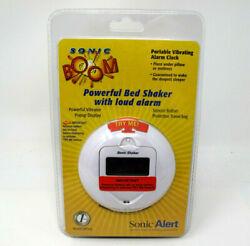 Sonic Alert Sonic Boom SA-SBP100 Sonic Bomb Travel Alarm Clock Bed Shaker NOS
