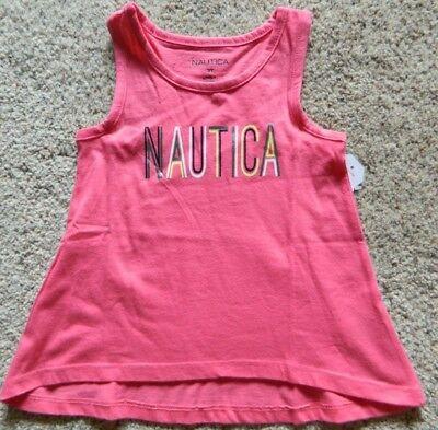 Nautica girls 4T pink tank top