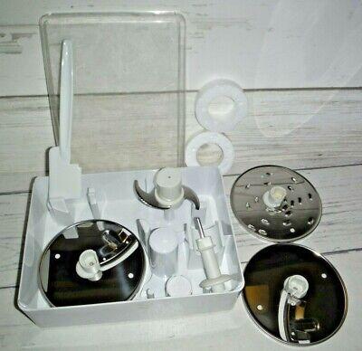 Kitchen Aid Food Processor Blades & Disc Set In Case