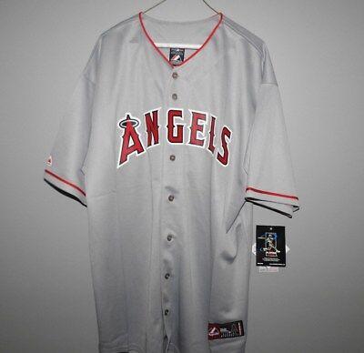 MLB Majestic Big & Tall Los Angeles Angels PUJOLS Baseball Jersey New Mens - Los Angeles Angels Mlb Baseball