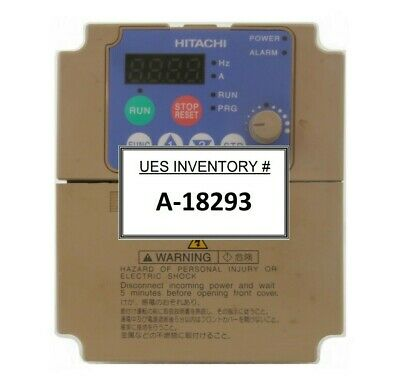 Hitachi Sj200-007nfu2 Variable Frequency Drive Inverter Working Surplus