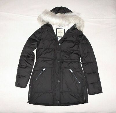 Womens Hollister by Abercrombie & Fitch Water Resistant Hoodie Jacket Size XS