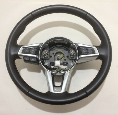 2016-2017 Mazda MX5 Miata Steering Wheel / Manual / Controls / OEM / ND004