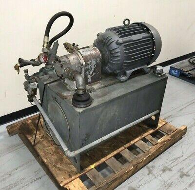 Marlen Research Mod. 631 Hydraulic Power Unit 30hp With Rexroth Pump