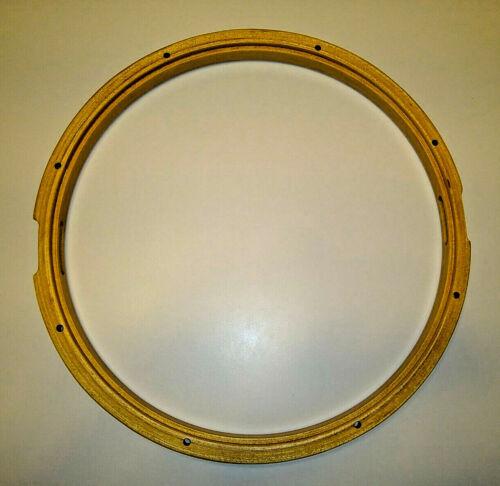 Gibraltar SC-1408WSS 14 Inch 8 Lug Wood Snare Side Bottom Drum Hoop Wooden Rim