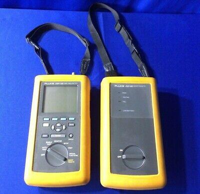 Lot Of 1 Fluke Dsp-100 Lan Cable Meter 1 Dsp-sr Smart Remote - For Parts