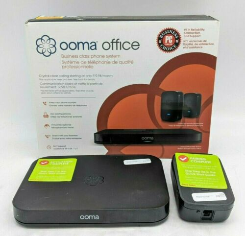Ooma Business Class VoIP Phone System Base Station Pack -NR4008