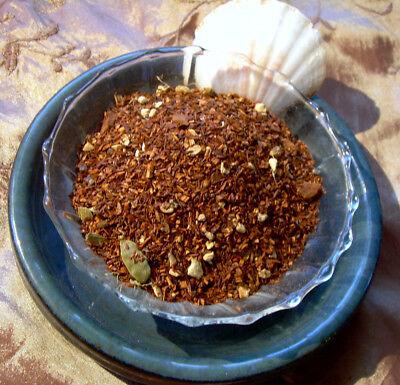 Chai Tea Rooibos Chocolate Ginger Chocolate Chips, Cardamom, Ginger No Caffeine