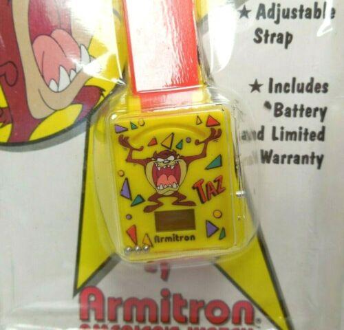 Looney Tunes Taz Armitron Tasmanian Devil Character Watch Vintage 1994