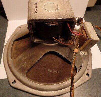 """Vintage Vacuum Tube Radio 10"""" 1000ohm Speaker"""