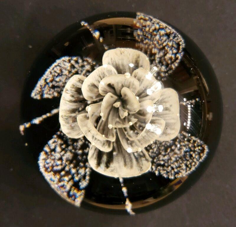 Caithness Art Glass Scotland HONESTY Paperweight #122/250 Limited Edition