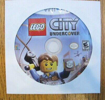 LEGO City Undercover (Nintendo Wii U, 2016) - Disc Only - Tested - Free Shipping