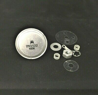 Motorola 2n1522 - Pnp - Bjt Germanium Transistor - 40v 50a - To-36 Nos