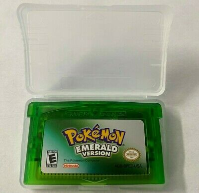 Pokemon Emerald Version GBA GAMEBOY ADVANCE SHIPS FROM USA FAST