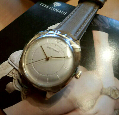 Damen Armbanduhr YVES CAMANI YVETTE Lederarmband Neu OVP analog