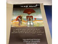 Max Ernst Ubu Poster Kunstdruck Bild 60x47cm