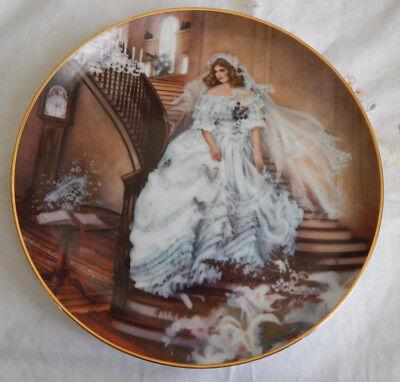 CAROLINE PLATE PROTRAITS OF AMERICAN BRIDES American Brides Plate