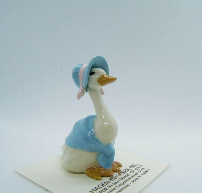 Hagen Renaker Mother Goose Blue Figurine Miniature New 2057 Free Shipping