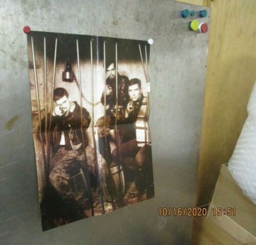 DEATH IN JUNE/BOYD RICE/NON/BLOOD AXIS 2000s PROMO POSTER
