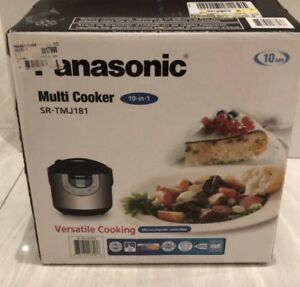 Panasonic 10-in-1 Multi Cooker
