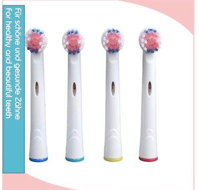 Aufsteckbürsten Ersatzbürsten Passend für Oral B Oralb 8 STÜCK Elektrobürsten