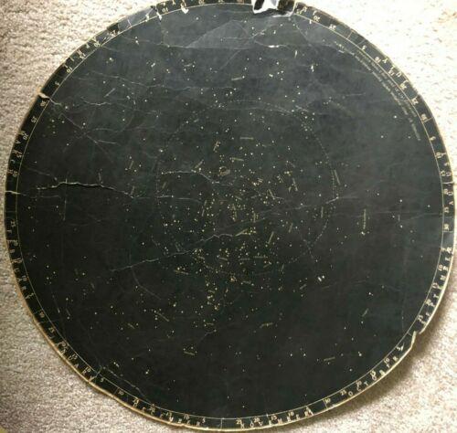 Astronomy Sky Map 1917 Raymond Dugan, Camp Fire Stores RARE Antique