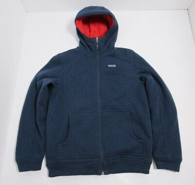 Patagonia Men's Insulated Better Sweater Hoodie Size Small Full Zip Navy Blue (Best Insulated Winter Jackets)