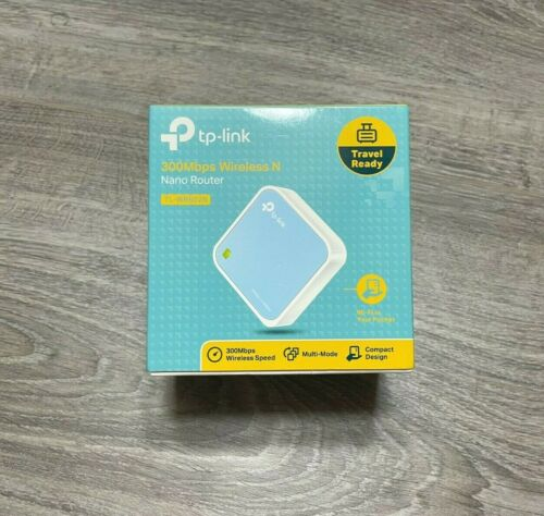 NEW TP-LINK 300 Mbps Wireless N Nano Router TL-WR802N Travel Portable Brand New