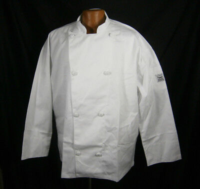 Chef Revival Coat Long Sleeve Cooking Jacket White Knife Steel J001 Xl 48-50