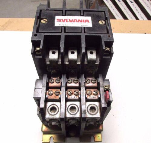 Sylvania Size 3 Contactor 600V, 110/120V Coil Cat# T50U03C2 ... VV-550