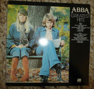 ABBA GREATEST HITS LP ATLANTIC RECORDS GATEFOLD SD 19114 SLEEVE, 1976