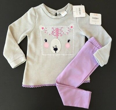 Gymboree Bear Pullover & Leggings Outfit NWT 2T $52.90