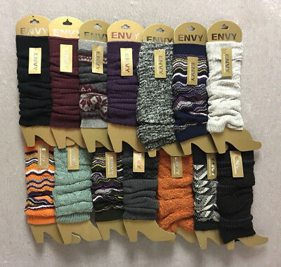 Ladies Envy Leg Warmers Many Colors To Choose](Colorful Leg Warmers)