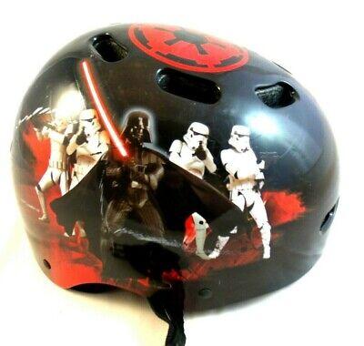 Star Wars Youth Skateboard Helmet Darth Vader 51-54 CM 392 Grams Child Skating