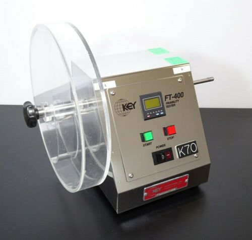 KEY International FT-400 Tablet Friability Tester | 1-Drum